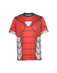 Spyder T Shirts Red