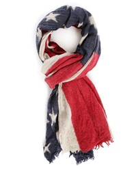 Denim And Supply Ralph Lauren Flag Washed Woollen Scarf