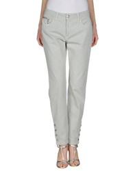 Trussardi Jeans Trousers Casual Trousers Women Light Grey