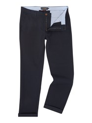 Howick Slim Fit Fraternity Casual Chino Blue
