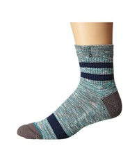 Stance Mission Low Aqua Men's Crew Cut Socks Shoes Blue