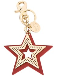See By Chloe Star Keyring Metallic