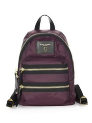 Marc By Marc Jacobs Mini Backpack Dark Violet