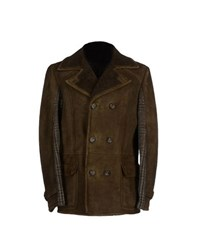 Class Roberto Cavalli Coats And Jackets Jackets Men Military Green