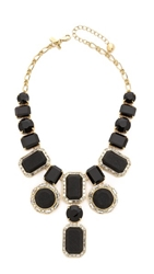 Kate Spade Jackpot Jewels Statement Necklace Black