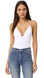 Free People Move Along Bodysuit White