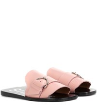 Acne Studios Virgie Slip On Sandals Pink
