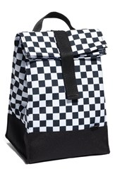 Vans Men's 'Mow Lunch' Insulated Canvas Lunch Sack Black Black White