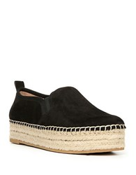 Sam Edelman Carrin Leather Platforms Black
