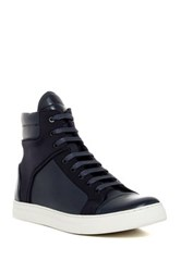 Kenneth Cole Reaction Double Header High Top Sneaker Men Blue