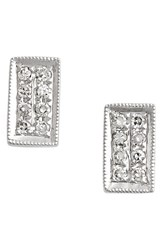 Dana Rebecca Women's Designs 'Katie' Diamond Stud Earrings White Gold