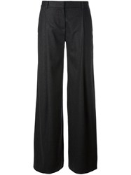 Diane Von Furstenberg Pleated Palazzo Pants Grey