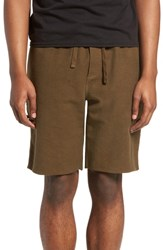 The Rail Reverse Terry Shorts Olive Dusk