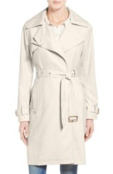 French Connection Women's Flowy Belted Trench Coat