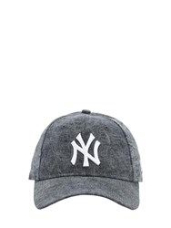 New Era 9Twenty Cotton Denim Baseball Hat Black