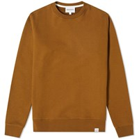 Norse Projects Vagn Classic Crew Sweat Brown