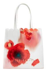 Ted Baker London Playful Poppy Large Icon Tote Red Mid Red