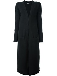 Calvin Klein Jeans Long Cardigan Black