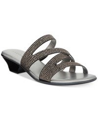 Karen Scott Embir Sandals Created For Macy's Women's Shoes Black