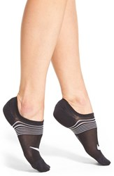 Nike Women's Lightweight No Show Socks Black White