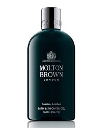 Molton Brown Russian Leather Bath And Shower Gel 10 Oz. 300 Ml