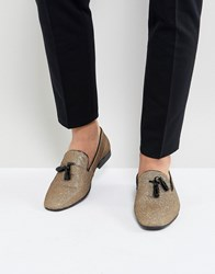 Kg By Kurt Geiger Party Slipper Loafers Gold Gold