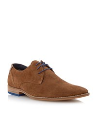 Linea Bogart Heavy Rand Casual Lace Up Gibson Tan