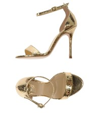 Icone Sandals Gold