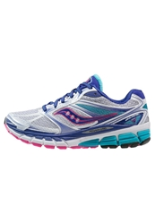 Saucony Guide 8 Stabilty Running Shoes White Twilight Pink