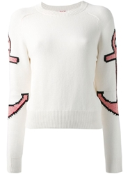 See By Chloe Sleeve Anchor Intarsia Sweater