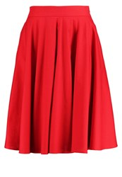 Mintandberry Aline Skirt Chinese Red