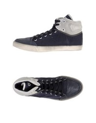 Guess High Tops And Trainers Dark Blue