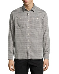 Howe Striped Woven Shirt Small