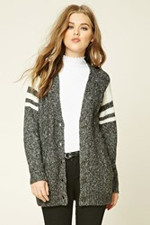Forever 21 Marled Knit Cardigan