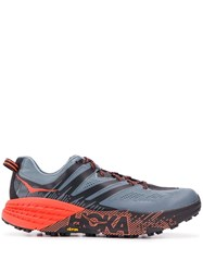 Hoka One One Speedgoat 3 Running Sneakers Blue