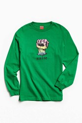 Disobedient Unite Long Sleeve Tee Green