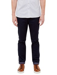 Ted Baker T For Tall Exmortt Geo Print Trim Chinos Navy