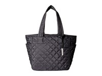 Le Sport Sac City Chelsea Tote Phantom Black Quilted Tote Handbags