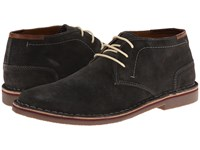 Kenneth Cole Reaction Desert Sun Dark Grey Men's Lace Up Boots Gray