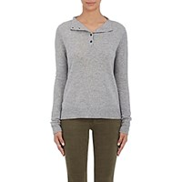 Rag And Bone Women's Charley Henley Sweater Light Grey