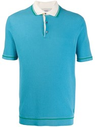 Pringle Of Scotland Contrast Piping Cotton Polo Shirt 60