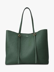 Ralph Lauren Polo Lennox Large Leather Tote Bag