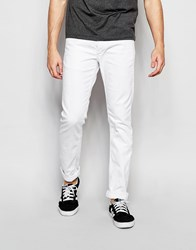 Jack And Jones Jack And Jones Slim Fit White Jeans White