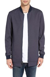 Civil Society Men's Huey Longline French Terry Bomber Jacket