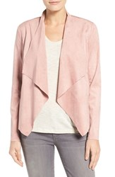 Kut From The Kloth Women's Tayanita Faux Suede Jacket Blush