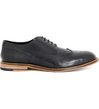 Kg By Kurt Geiger Hatley Leather Brogues Black