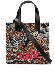 Kenzo Jungle Flying Tiger Jacquard Tote Bag 60