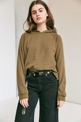 Urban Outfitters Webbed Belt Green