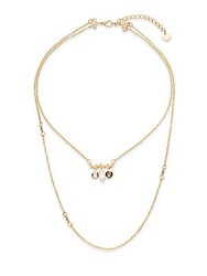 Jules Smith Designs Gemma 14K Gold Plated Two Strand Necklace