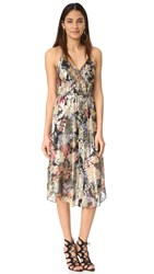 Haute Hippie Lace Up Front Dress Peggy Lee